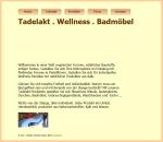 Tadelakt Wellness Design Badmöbel