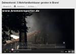 Brennende WDVS: der Fassadenbrand von Delmenhorst